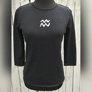 525 American Aquarius silk blend sweater